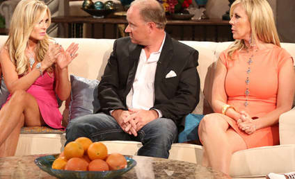 Tamra Barney to Brooks Ayers: You SO Don't Have Cancer!