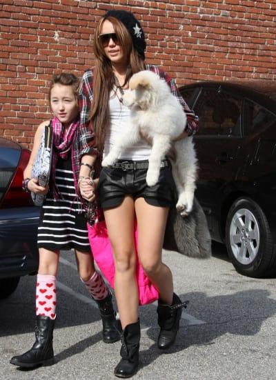 Miley and Noah Photo