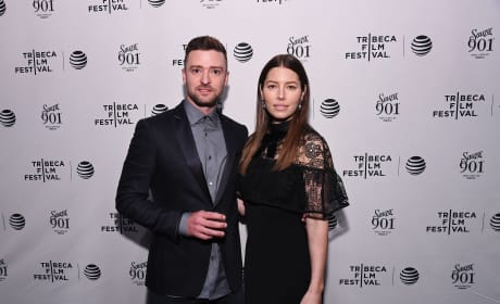 Justin Timberlake and Jessica Biel: 'The Devil And The Deep Blue Sea' Tribeca Film Festival Premiere