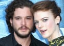 Kit Harington Bends the Knee, Proposes to Rose Leslie!
