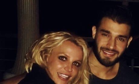Britney Spears & Sam Ashgari New Year's Eve Pic