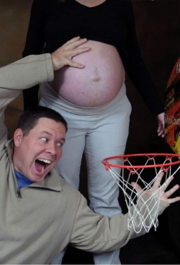 Basketball and Impending Baby