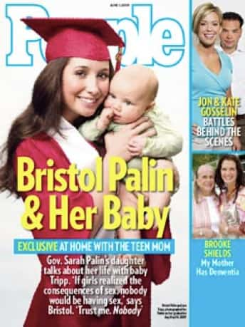 Bristol Palin and Her Baby