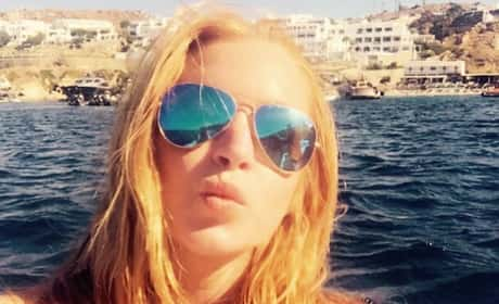 Lindsay Lohan Selfie Pic