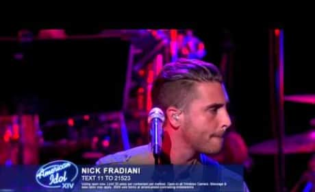 """Nick Fradiani - """"Thinking Out Loud"""""""