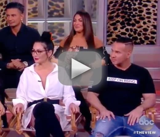 Jersey shore stars shower ronnie with support for some reason