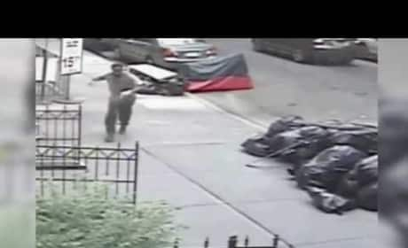 Dude Tries, Fails to Shove Bag of Poop Down Woman's Pants in Broad Daylight. #NYC.
