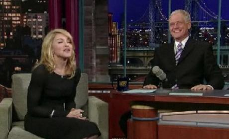 Madonna on David Letterman
