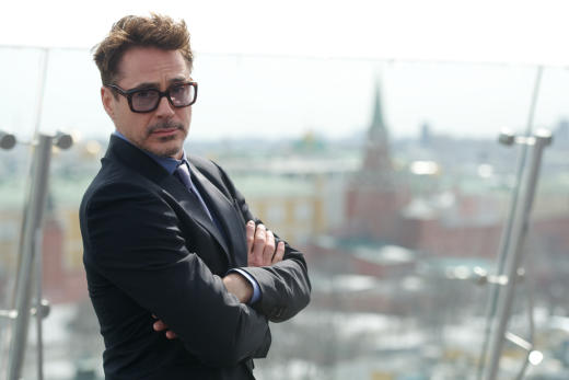 Robert Downey Jr. Iron Man 3 Photocall