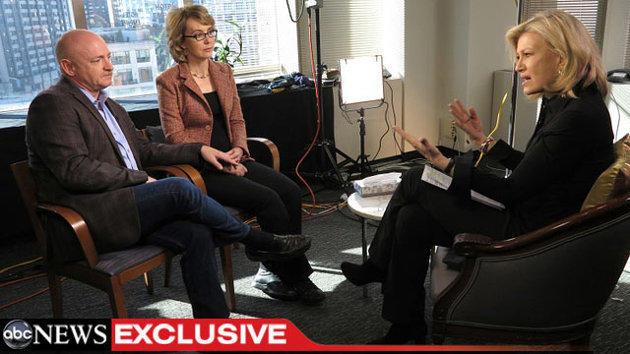 Gabrielle Giffords on GMA