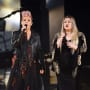 Kelly Clarkson and Pink at AMAs