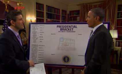 Barack Obama Makes NCAA Tournament Selections