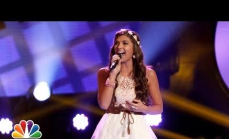 Destinee Quinn - Cowboy Take Me Away (The Voice Blind Audition)