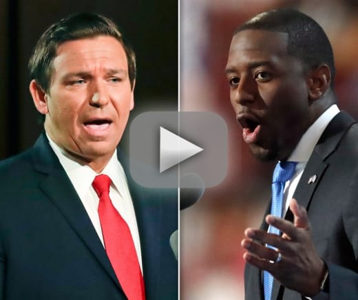 Ron desantis republican candidate for governor basically calls b