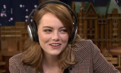 Emma Stone Accepts Whisper Challenge from Jimmy Fallon