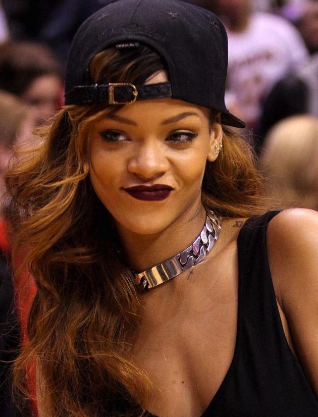 Rihanna at Staples Center