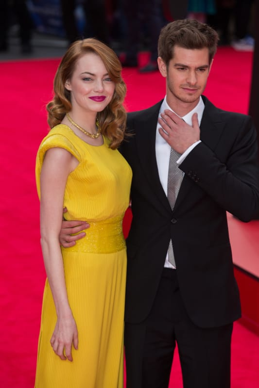 Emma Stone And Andrew Garfield Red Carpet Photos The Hollywood