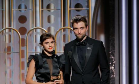 Emma Watson and Robert Pattinson