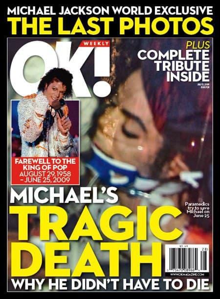 Michael Jackson OK! Cover