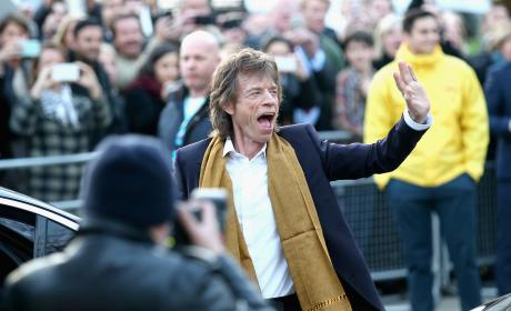 Mick Jagger Waves