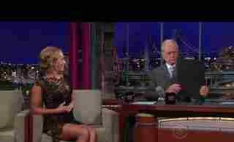 Hayden on Letterman