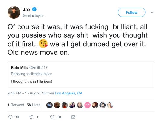 jax reply