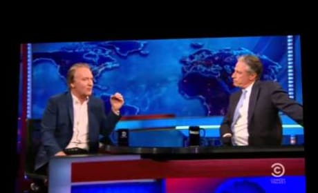 Bill Maher Talks to Jon Stewart