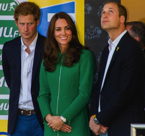 Kate, William and Harry