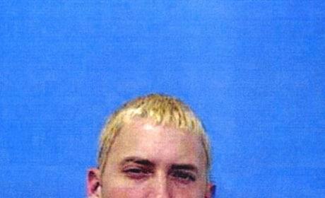Eminem Mug Shot