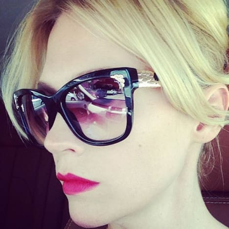 January Jones Selfie