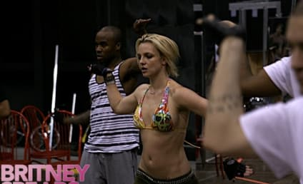 Britney Spears Rehearses For the Circus