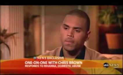 Chris Brown on Good Morning America: I Was Wrong