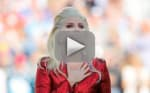 Lady Gaga National Anthem at Super Bowl 50