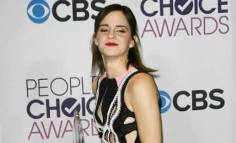 Emma Watson at the PCAs