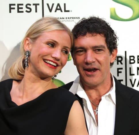 Cameron Diaz and Antonio Banderas