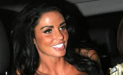 Katie Price Flashes Hungover Cleavage