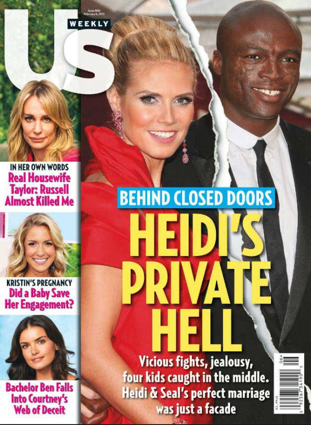 Heidi Klum and Seal Cover