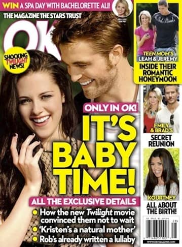 Robsten Baby Time!