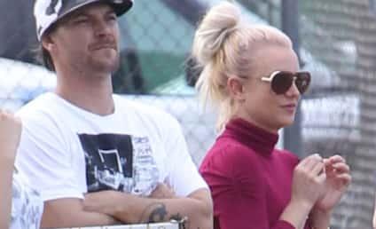 Britney Spears and Kevin Federline: Reunited (For Soccer Game)!