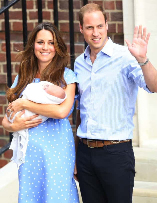 Kate, William and Royal Baby