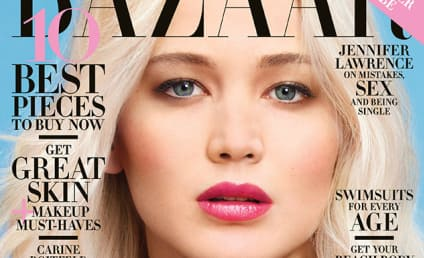 Jennifer Lawrence Talks Sex, Vomiting and Body Image