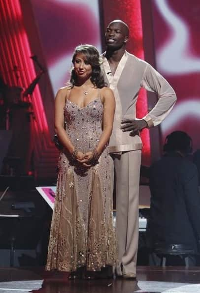 Cheryl Burke and Chad Ochocinco Photo
