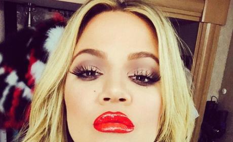 Khloe Kardashian Lips Photo