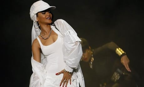 Rihanna in Middle East