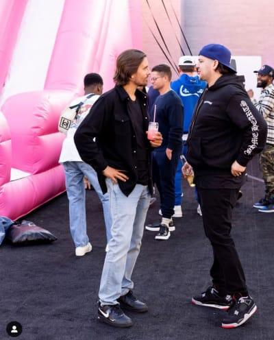 Rob Kardashian Con Scott Disick