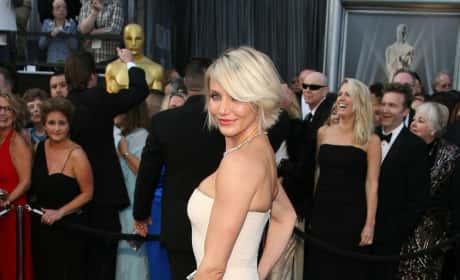 Cameron Diaz at the Oscars