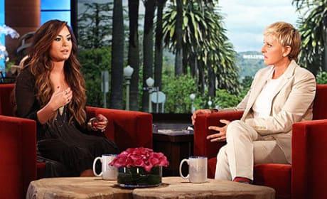 Demi Lovato on Ellen