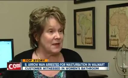 Woman to Masturbating Man in Walmart: I Caught You!