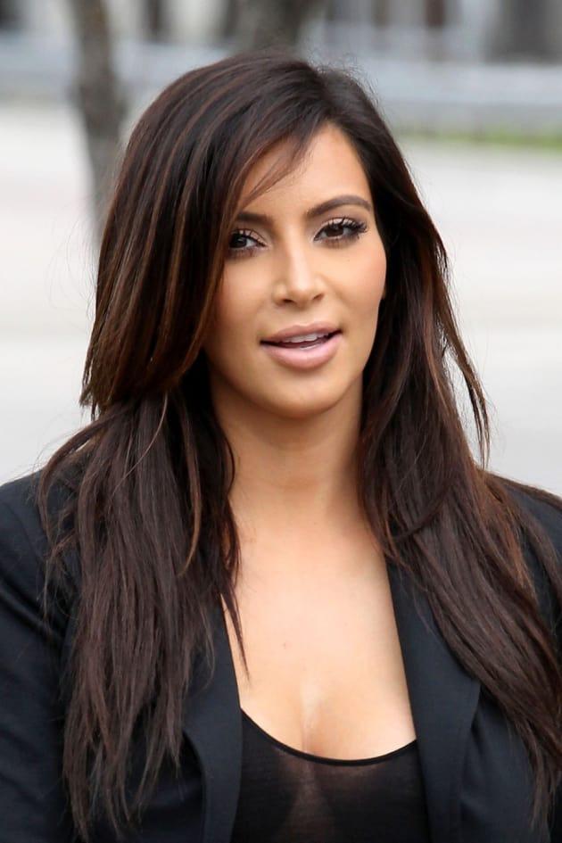 Kim Kardashian on the Street