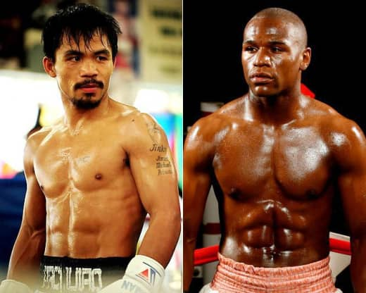 Manny Pacquiao vs. Floyd Mayweather
